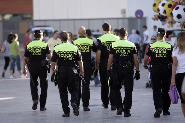 requisitos policía local